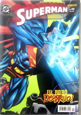 Superman - N�22 Eu, Rob�... Destruo!
