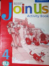 Livro Join Us Activity Book 4