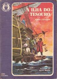 Livro A Ilha do Tesouro - Autor Robert Louis Stevenson