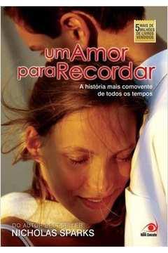 Resultado de imagem para um amor para recordar livro