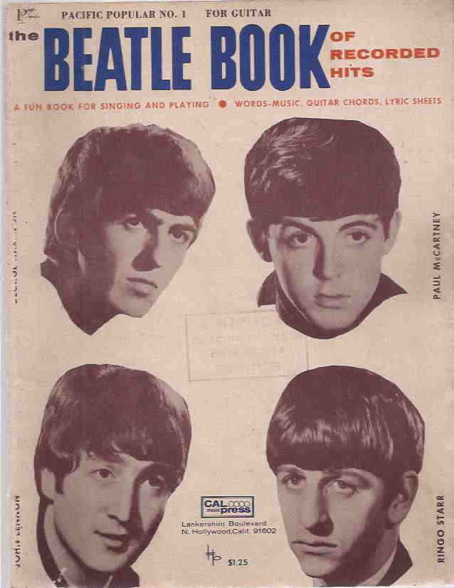 The Beatle Book of Recorded Hits - Partitura e Cifra