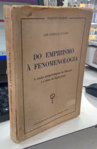 Do Enpirismo � Fenomenologia